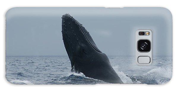Humpback Whale Breaching Galaxy Case