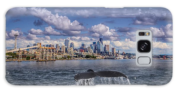 Humpback Whale-seattle Galaxy Case