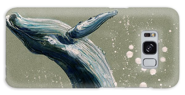 Humpback Whale Swimming Galaxy S8 Case