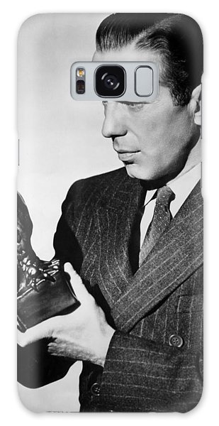 Humphrey Bogart Holding Falcon The Maltese Falcon 1941  Galaxy Case