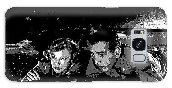 Humphrey Bogart June Allyson Galaxy Case by Charles Shoup