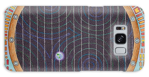 Hundertwasser Shuttle Window Galaxy Case