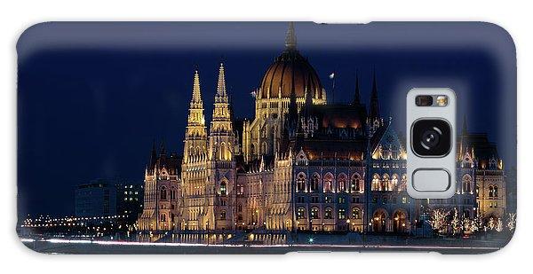 Hungarian Parliament Building #1 Galaxy Case