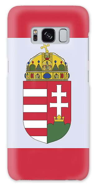 Hungary Coat Of Arms Galaxy Case by Movie Poster Prints