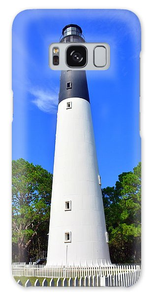 Hunting Island Galaxy Case - Hunting Island Lighthouse Beaufort Sc by Lisa Wooten