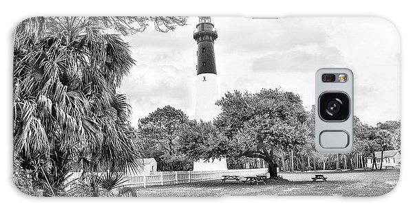 Hunting Island Lighthouse Galaxy Case