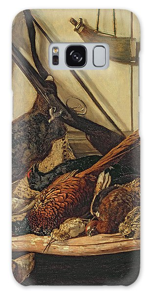 Pheasant Galaxy S8 Case - Hunting Trophies by Claude Monet