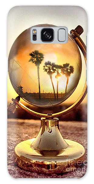 Huntington Beach Globe Galaxy Case