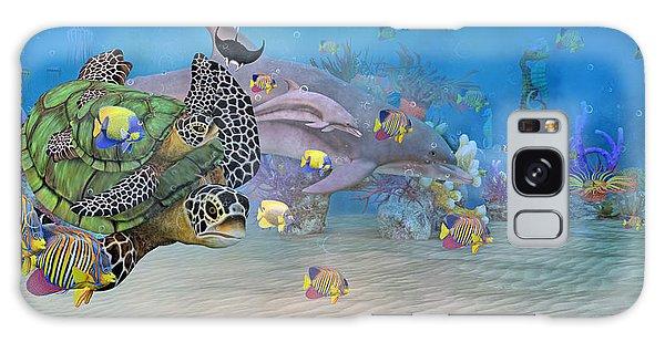 Turtle Galaxy Case - Huntington Beach Imaginative  by Betsy Knapp