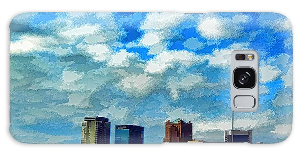 Huntsville Alabama Skyline Abstract Art Galaxy Case