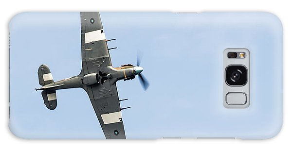 Galaxy Case featuring the photograph Hurricane From Below Sunderland Air Show 2014 by Scott Lyons