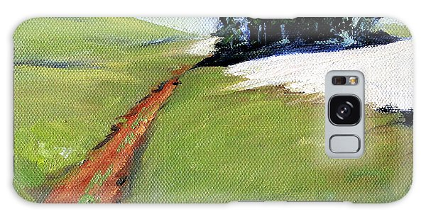 Galaxy Case featuring the painting Hurricane Hill by Nancy Merkle