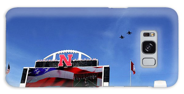 Husker Memorial Stadium Air Force Fly Over Galaxy Case