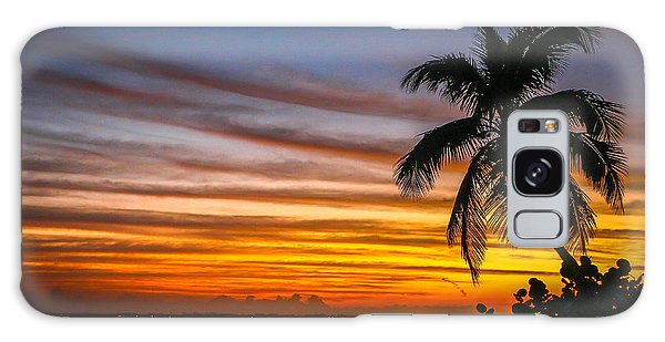 Hutchinson Island Sunrise #1 Galaxy Case
