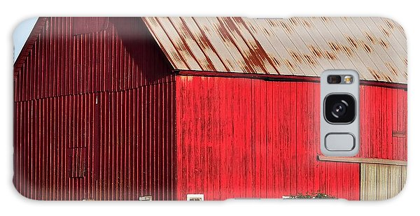 Hwy 47 Red Barn 21x21 Galaxy Case