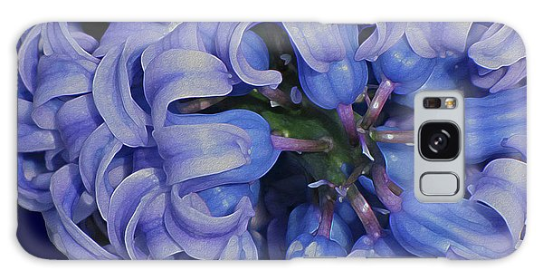 Hyacinth Curls Galaxy Case