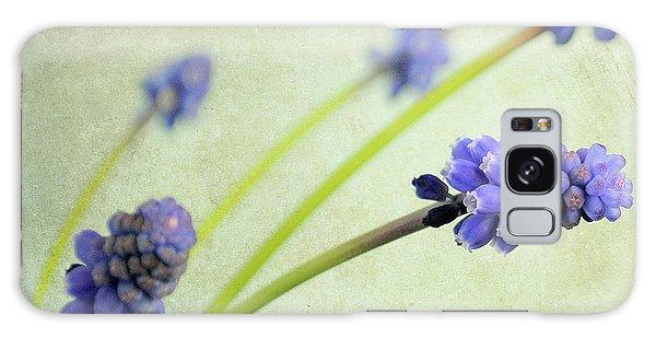 Hyacinth Grape Galaxy Case by Lyn Randle