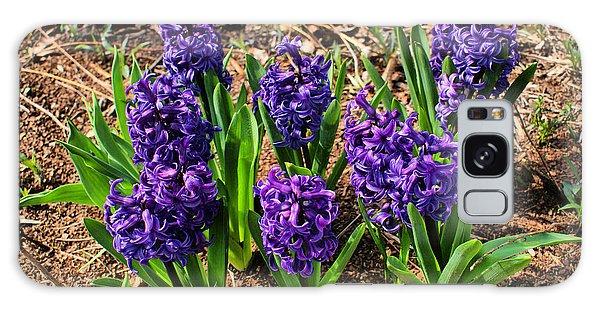 Hyacinth Galaxy Case by Rick Friedle