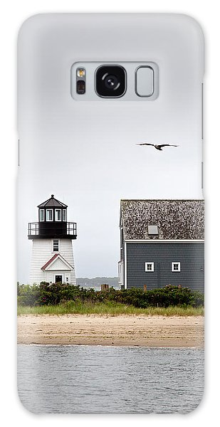 Hyannis Harbor Lighthouse Cape Cod Massachusetts Galaxy Case