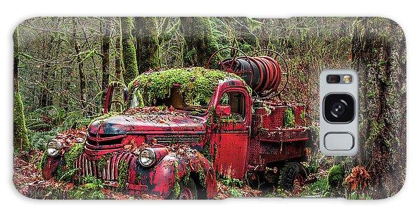 Hybrid Fire Truck Galaxy Case