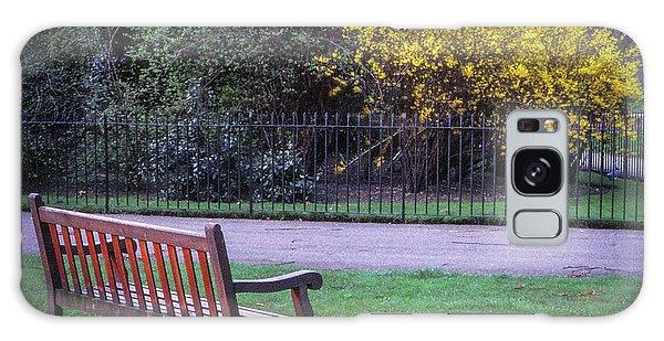 Hyde Park Bench - London Galaxy Case