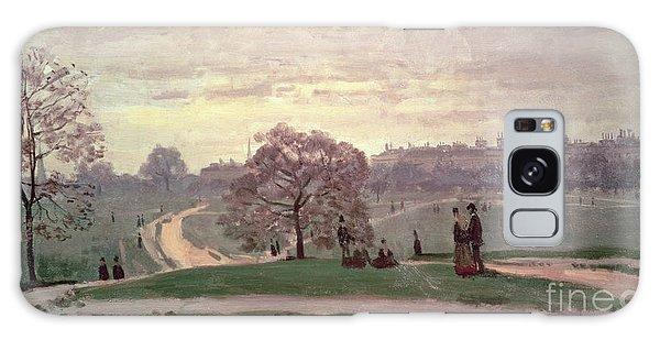 Hyde Park Galaxy Case by Claude Monet