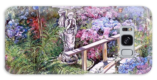 Hydrangea In The Formosa Gardens Galaxy Case