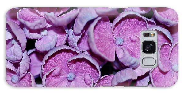 Hydrangea Petals Galaxy Case by Robert Shard