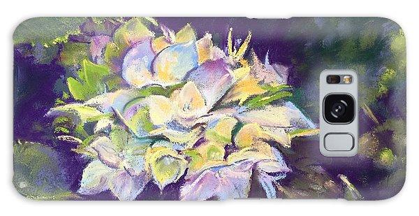 Hydrangea Galaxy Case by Rebecca Matthews