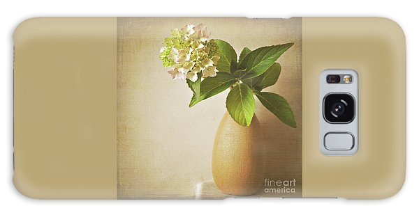 Hydrangea With Leaves Galaxy Case