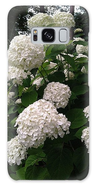 Hydrangeas Galaxy Case by Ferrel Cordle