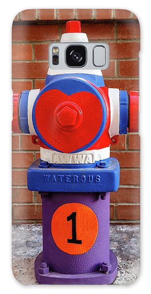 Hydrant Number One Galaxy Case by James Eddy