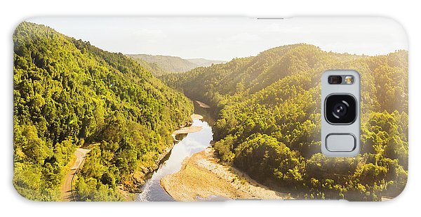 Industry Galaxy Case - Hydropower Valley River by Jorgo Photography - Wall Art Gallery
