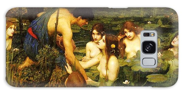 Hylas And The Nymphs Galaxy Case by Pg Reproductions