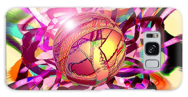 Galaxy Case - Hyperball by Dan Sheldon