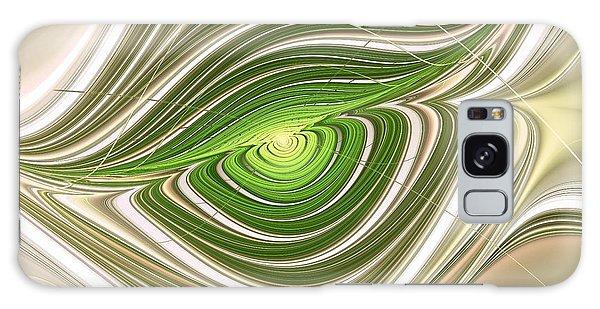 Hypnotic Eye Galaxy Case by Anastasiya Malakhova