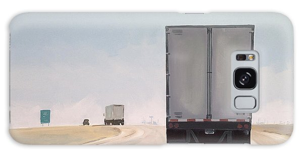 Truck Galaxy S8 Case - I-55 North 9am by Jeffrey Bess