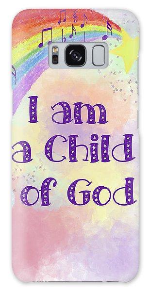 I Am A Child Of God 2 Galaxy Case