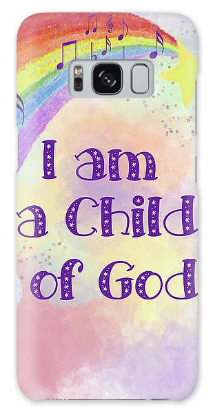 I Am A Child Of God 2 Galaxy Case
