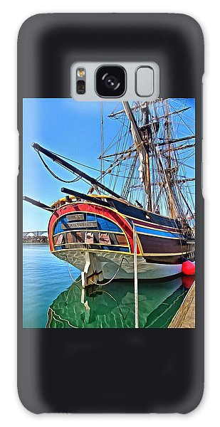 Galaxy Case featuring the photograph I Am A Lady by Thom Zehrfeld