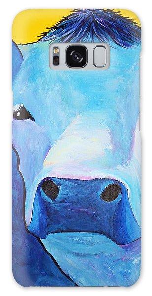 I Am So Blue Galaxy Case