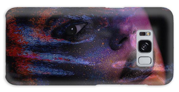 I Breathe Art Therefore I Am Art Galaxy Case