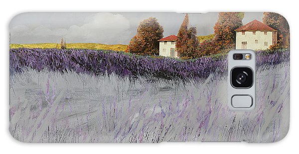 Rural Scenes Galaxy S8 Case - I Campi Di Lavanda by Guido Borelli