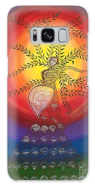 Madhubani Galaxy Case - I Carry The Universe In Me by Anuradha Kumari