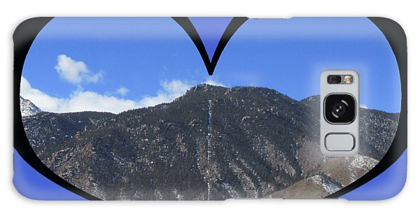 I Choose Love With The Manitou Springs Incline In A Heart Galaxy Case