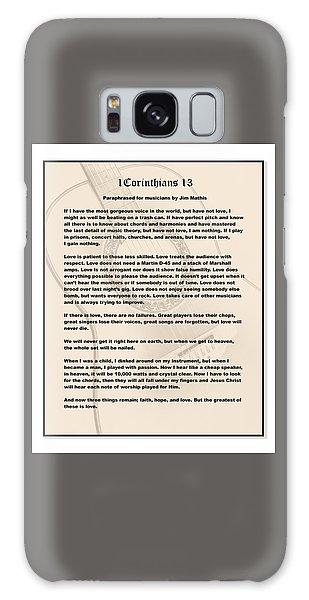 I Corinthians 13 Paraphrase Galaxy Case