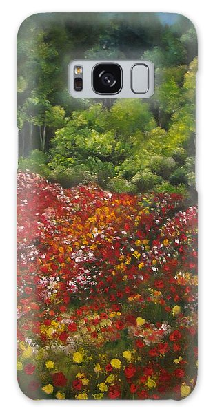 I Dream Of Poppies Galaxy Case