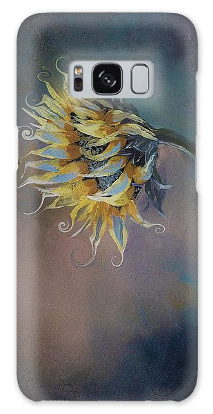 I Feel Like A Sunflower Painting Galaxy Case
