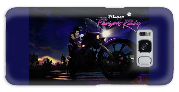 I Grew Up With Purplerain 2 Galaxy Case