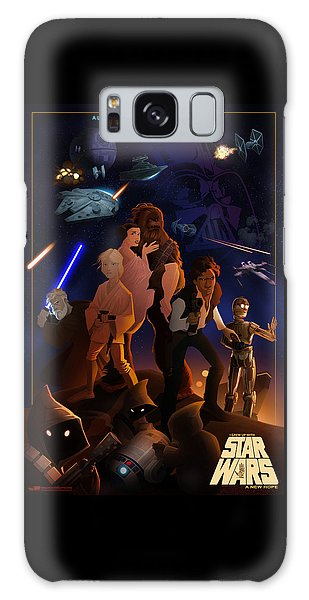 I Grew Up With Starwars Galaxy Case
